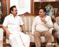 Kamal Haasan's Meeting with M Karunanidhi & MK Stalin (5)