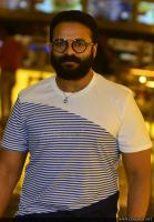 Jayasurya at Captain Movie Preview Show (2)