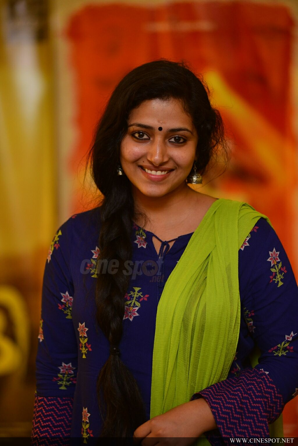 Anu Sithara at Captain Movie Preview Show (10)