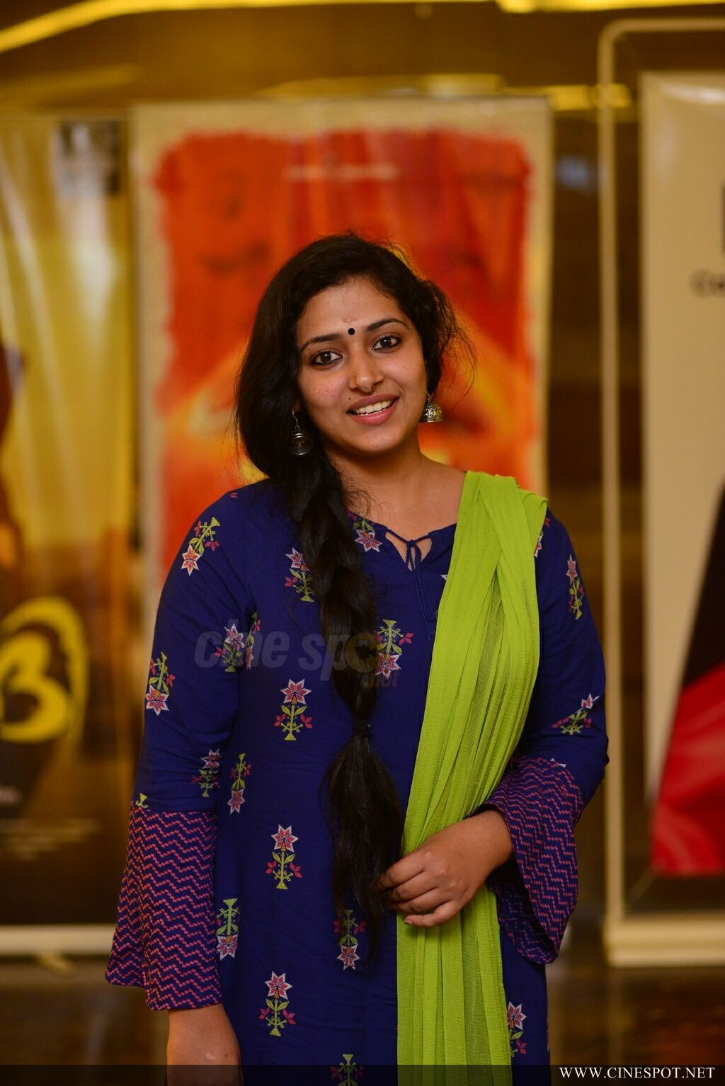 Anu Sithara at Captain Movie Preview Show (12)