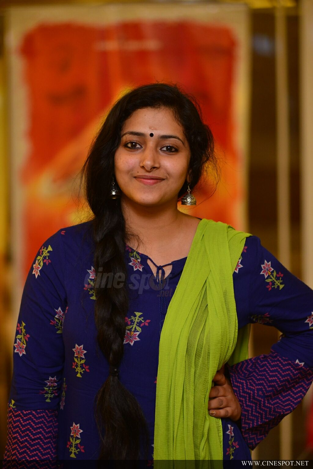 Anu Sithara at Captain Movie Preview Show (13)