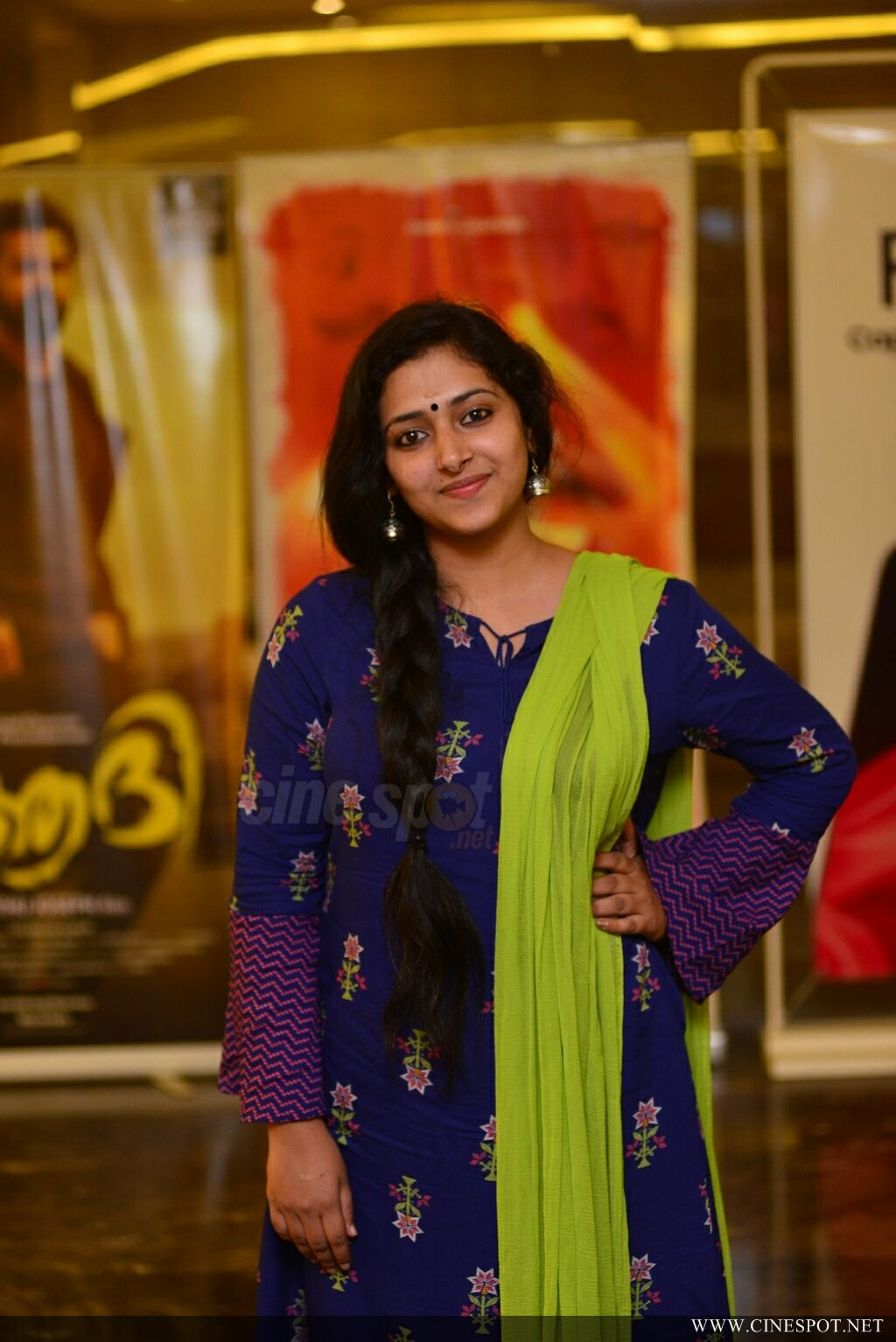 Anu Sithara at Captain Movie Preview Show (15)