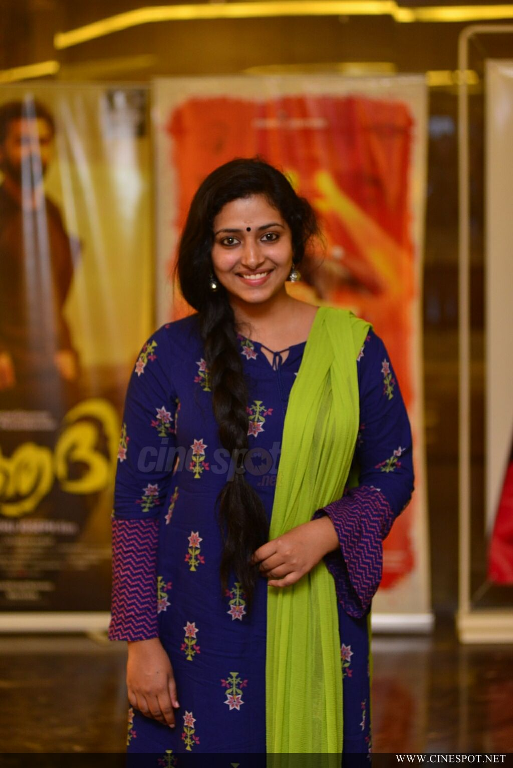 Anu Sithara at Captain Movie Preview Show (7)