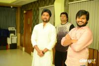 Nagarjuna & Nani Film Songs Recording (4)