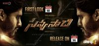 Savyasachi First Look Release Poster