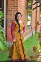 Anu Sithara at Oru Kuttanadan Blog Movie Pooja (4)
