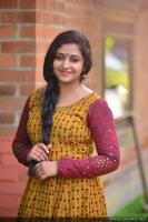 Anu Sithara at Oru Kuttanadan Blog Movie Pooja (6)