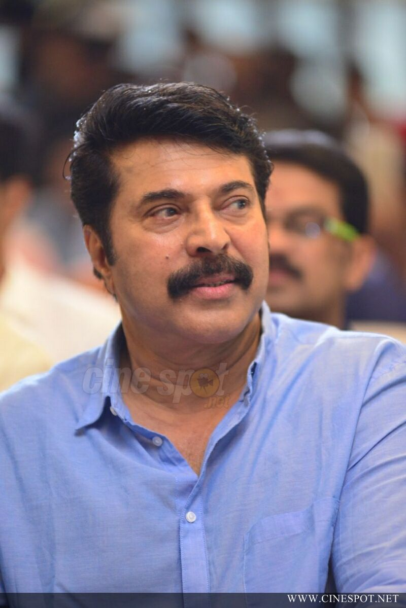 Mammootty at Oru Kuttanadan Blog Movie Pooja (7)