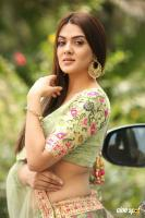 Sakshi Chaudhary at Oollo Pelliki Kukkala Hadavidi Audio Launch (9)