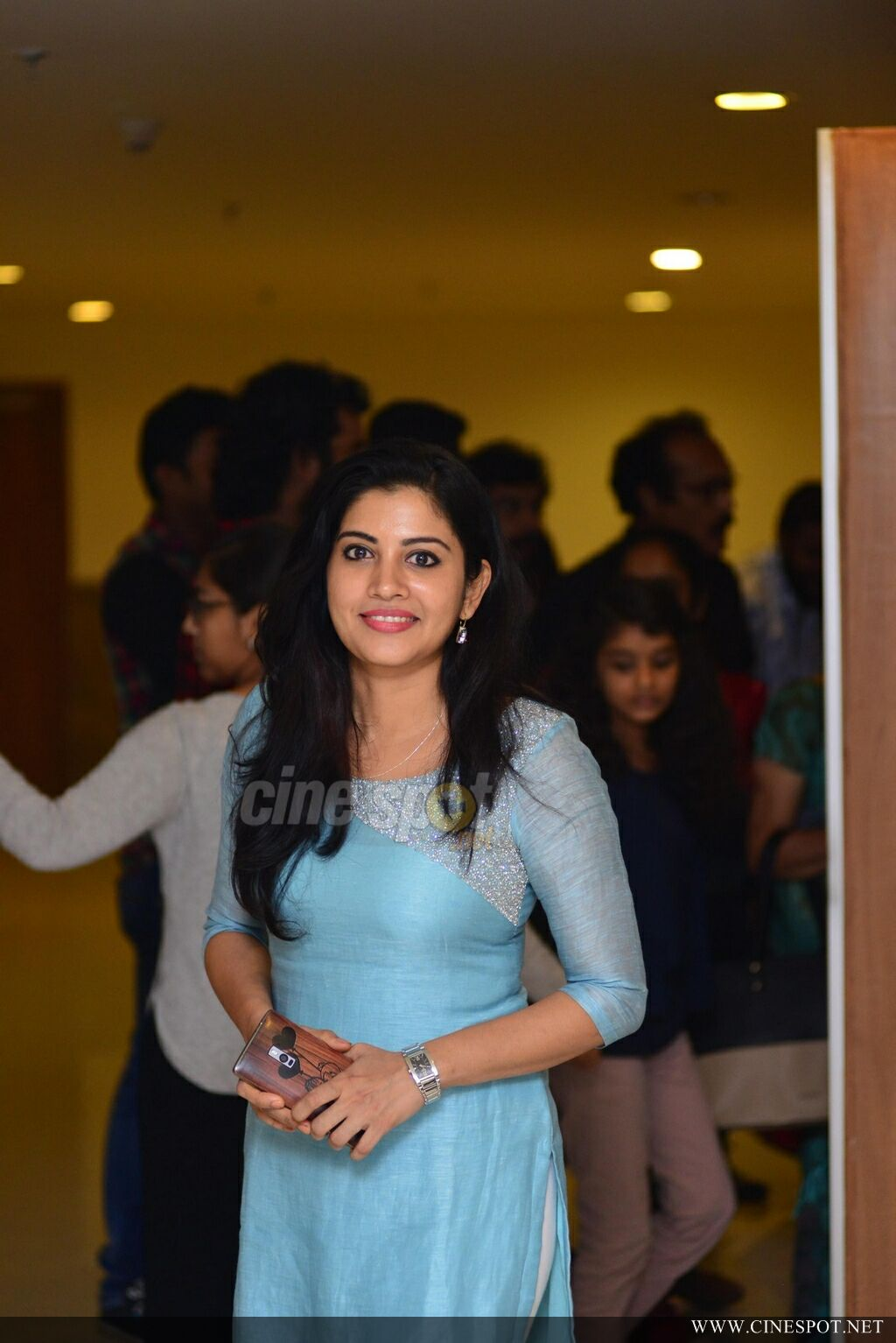 Sshivada at Shikkari Shambhu Success Meet (2)