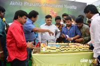 Ram Charan Birthday Celebrations by Allu Aravind (1)