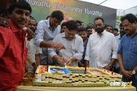 Ram Charan Birthday Celebrations by Allu Aravind (8)