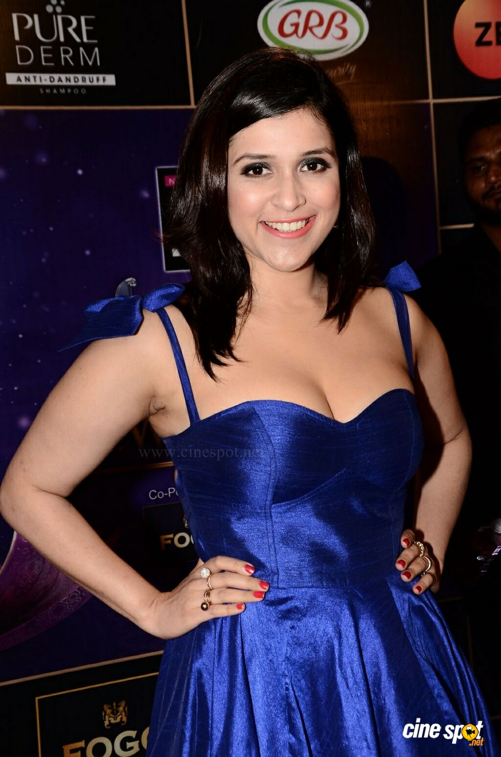 Mannara Chopra at Zee Telugu Apsara Awards 2018 (35)