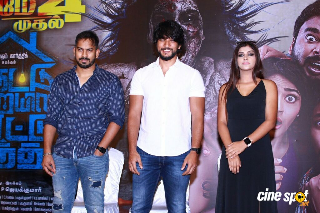 Iruttu Araiyil Murattu Kuththu Press Meet (18)