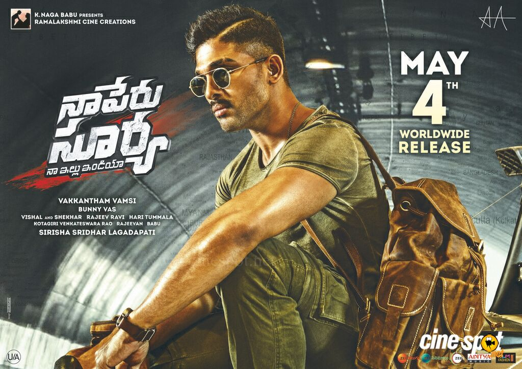 Naa Peru Surya May 4th Release Posters (1)