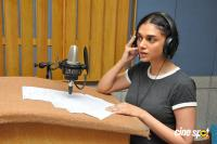 Aditi Rao Hydari Dubbing For Sammohanam Movie Photos