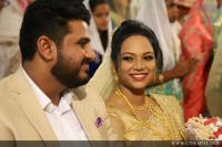 Bibin George Marriage Reception Photos