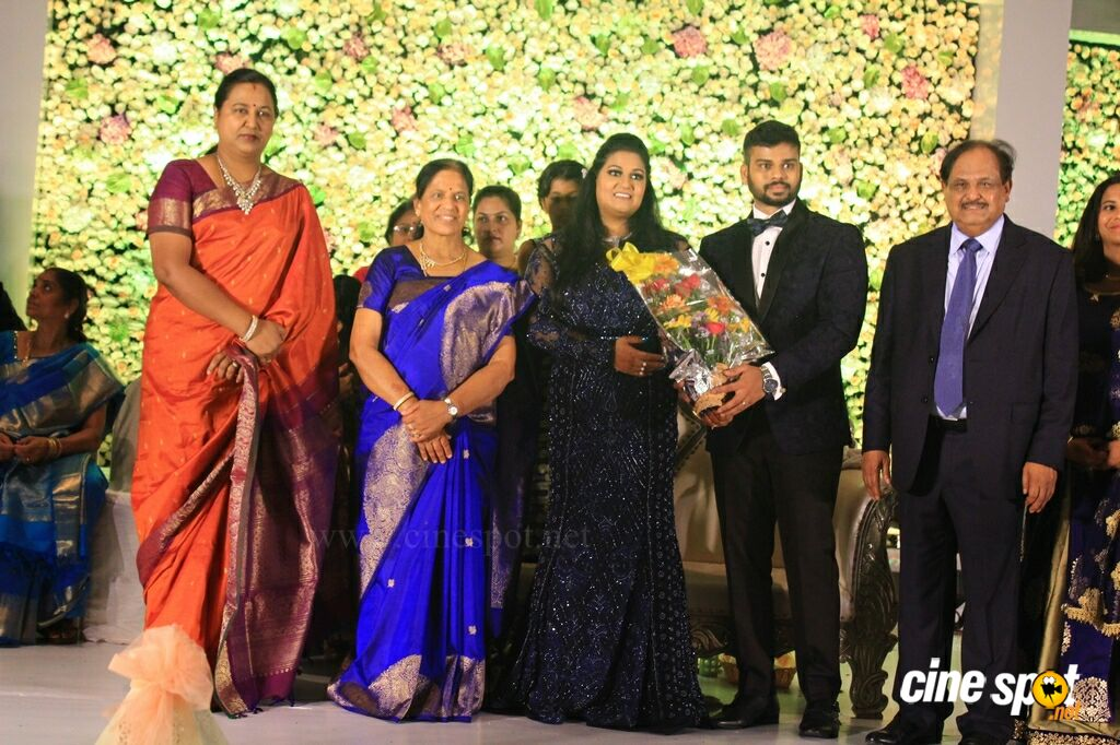 Palani G Periasamy Daughter Ananthi & Vinoth Wedding Reception (50)