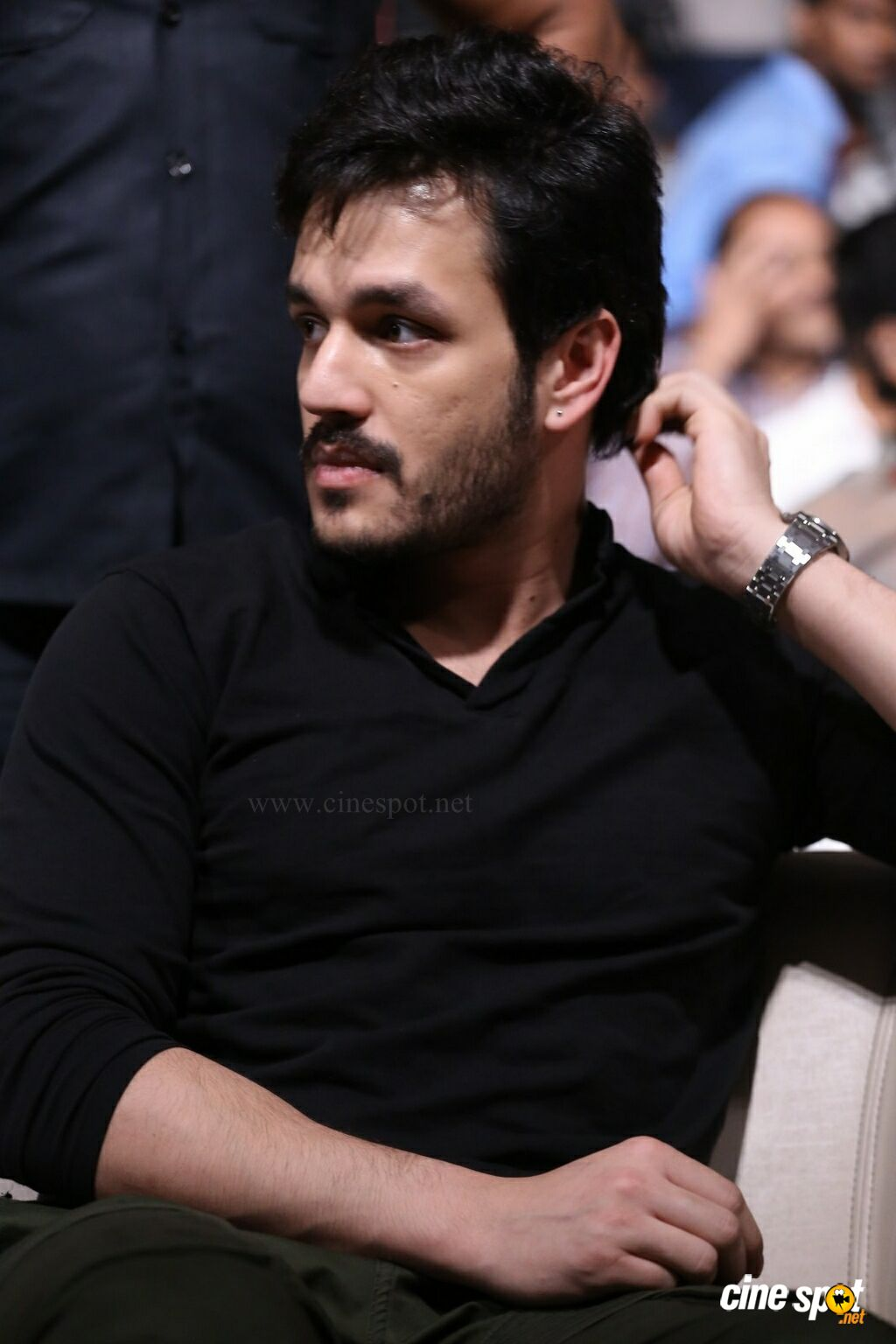 Akhil Akkineni at Officer Pre Release Event (12)