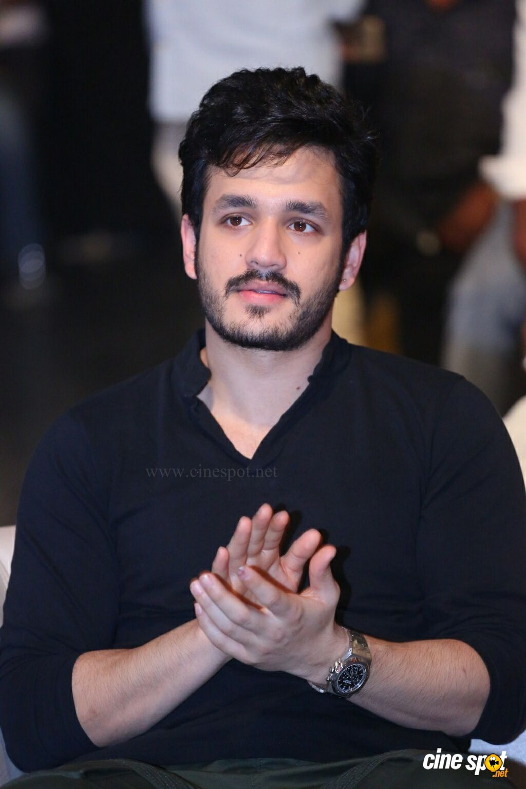 Akhil Akkineni at Officer Pre Release Event (4)
