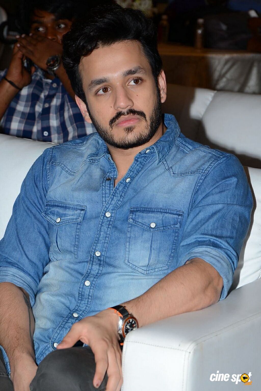 Akhil at Big C 200th Store Press Meet (11)
