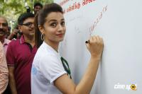Trisha Flags Off Rally Appealing Against Child Labour (5)