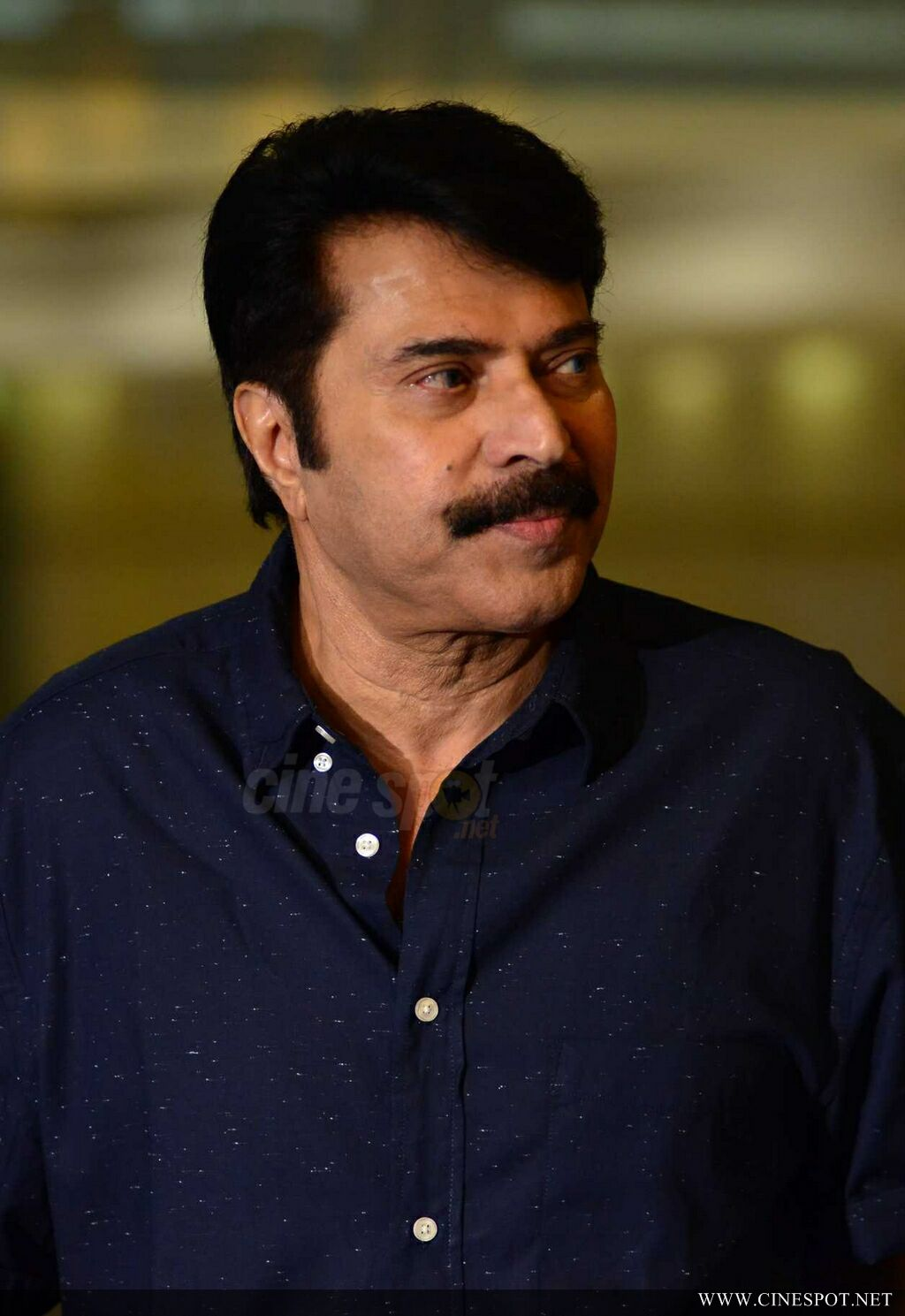 Mammootty at Abrahaminte Santhathikal Promo Meet (14)