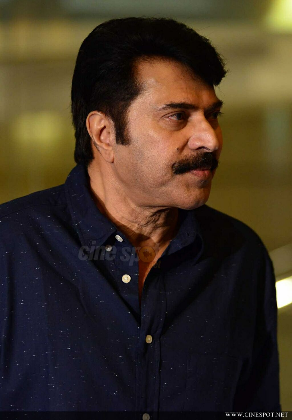 Mammootty at Abrahaminte Santhathikal Promo Meet (15)