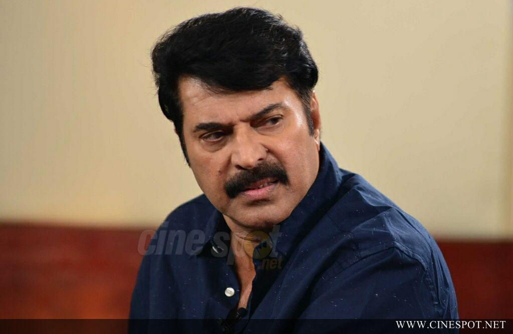 Mammootty at Abrahaminte Santhathikal Promo Meet (6)