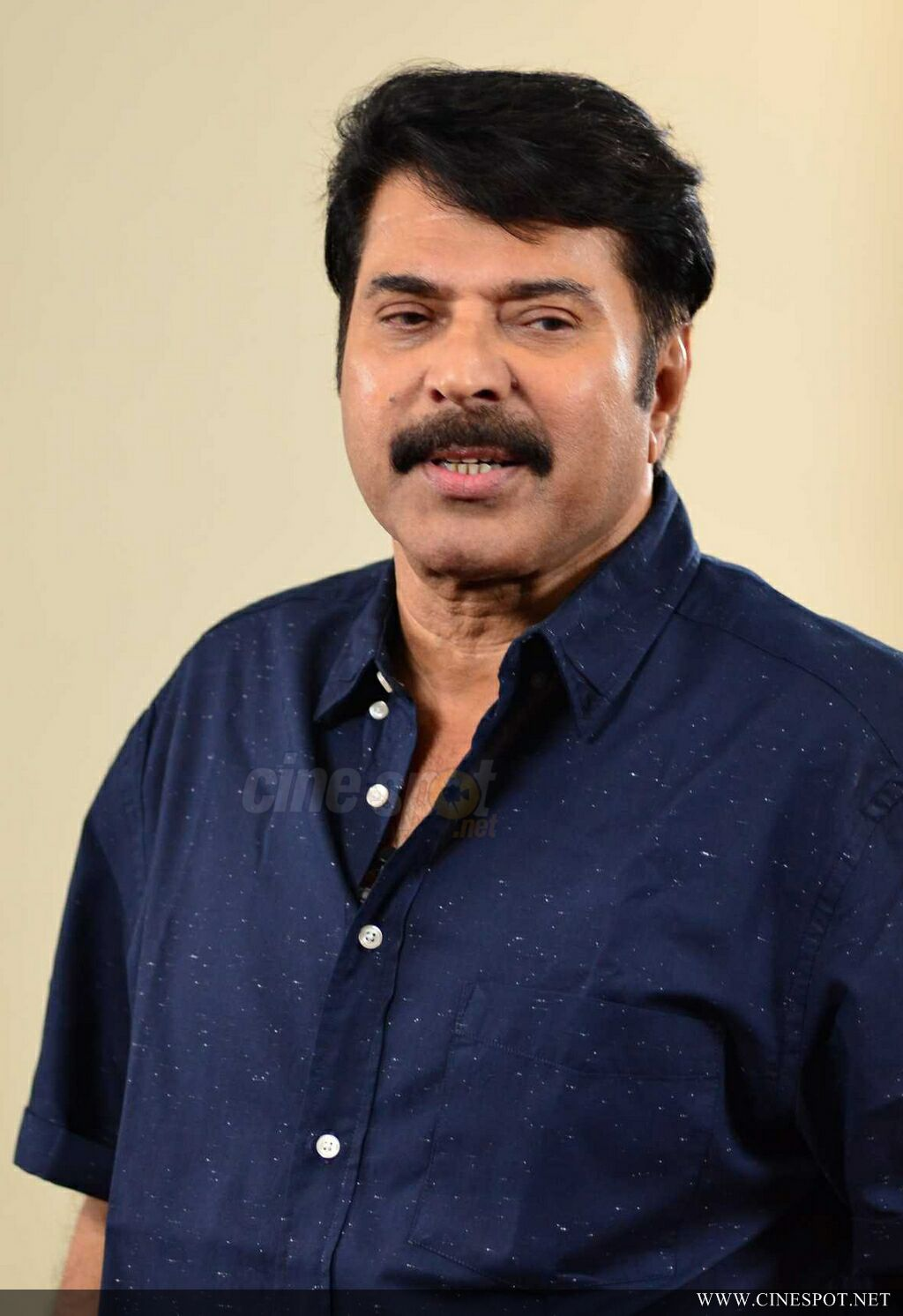 Mammootty at Abrahaminte Santhathikal Promo Meet (8)