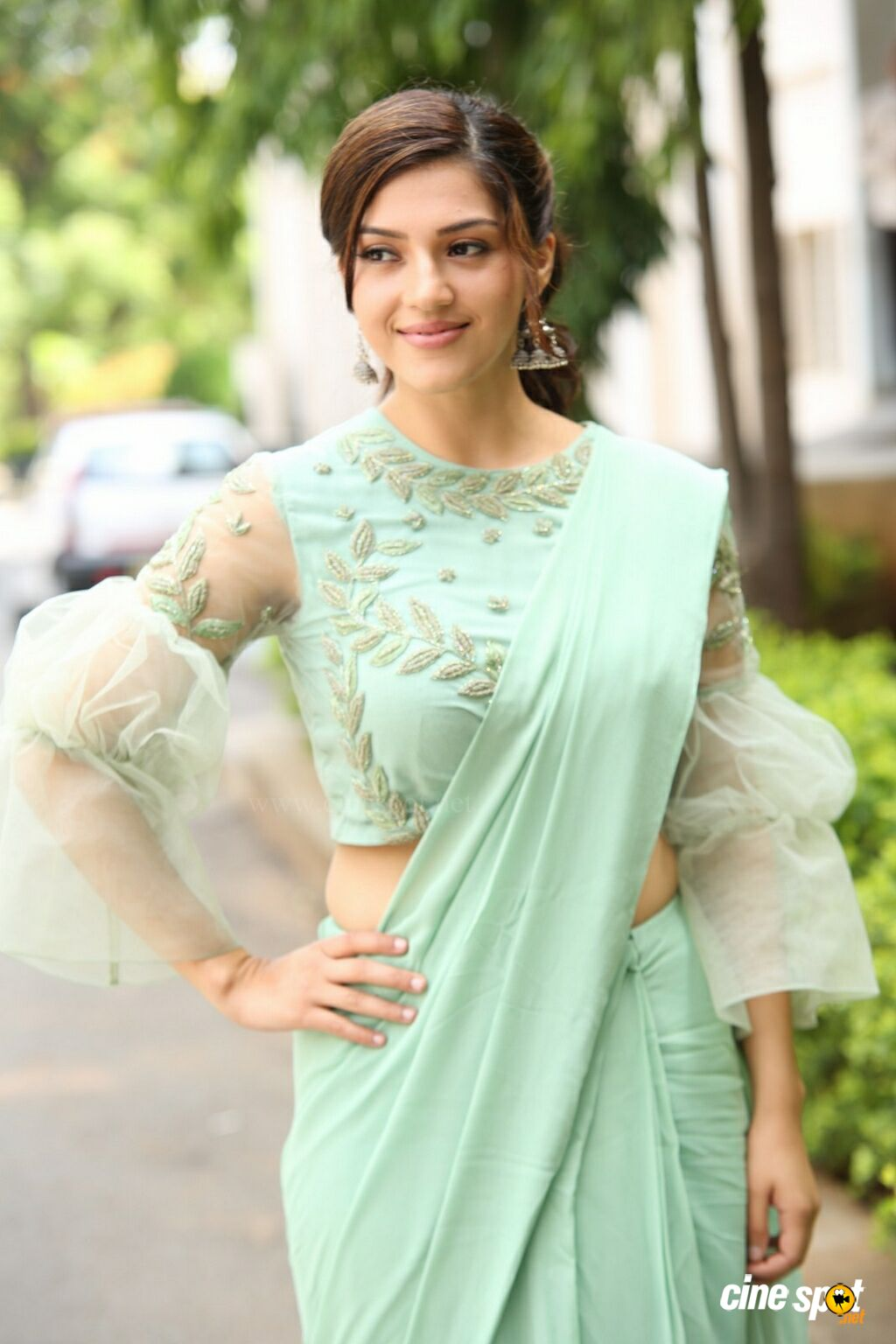 Mehreen Pirzada at Pantham Trailer Launch (2)
