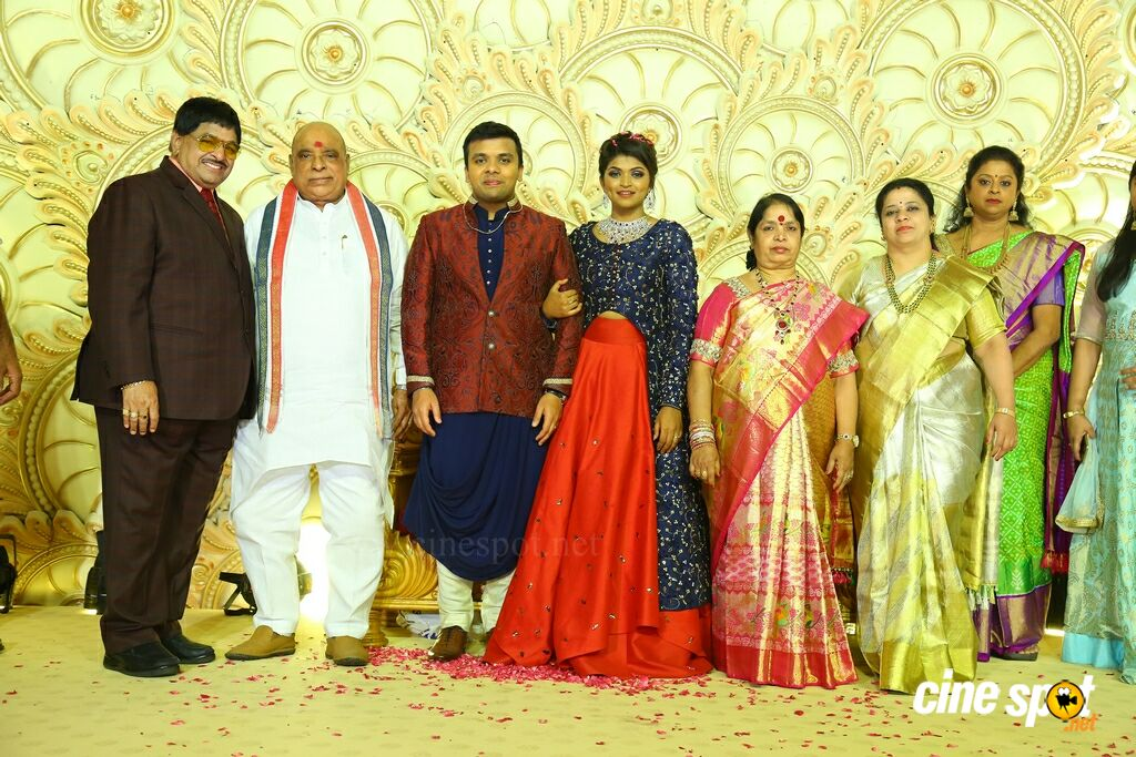 Ambica Krishna Grandson Wedding Reception (10)