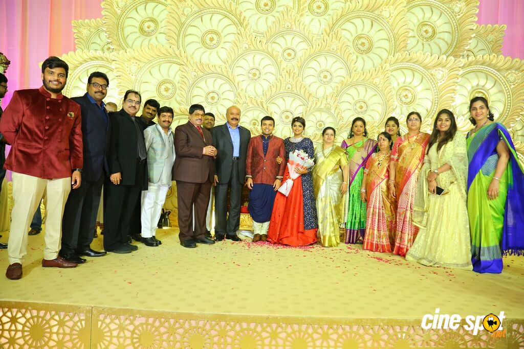 Ambica Krishna Grandson Wedding Reception (14)
