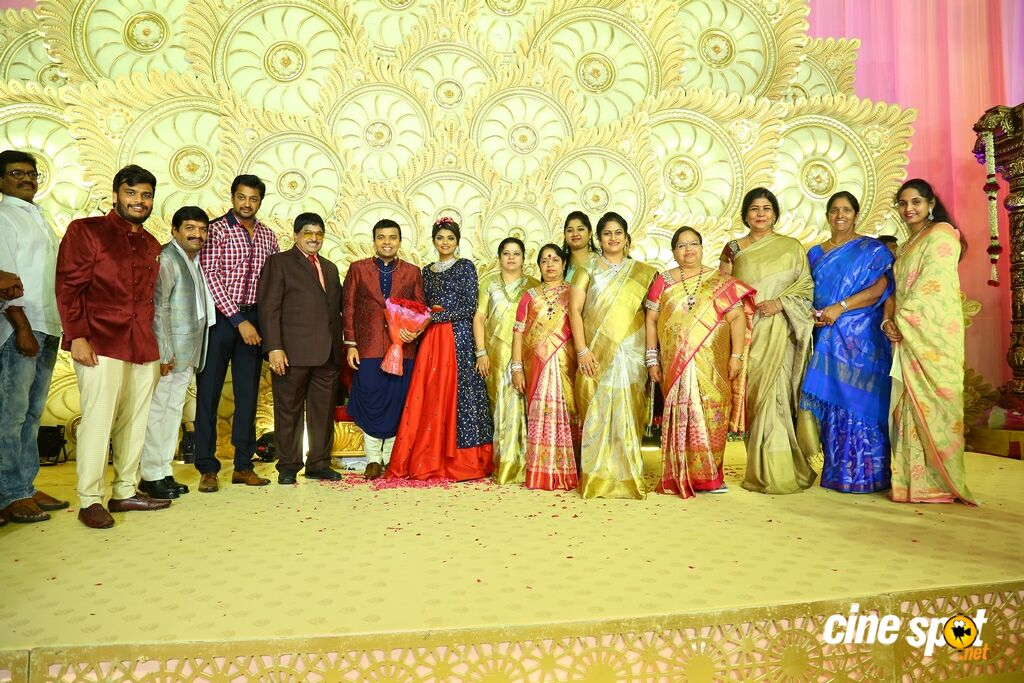 Ambica Krishna Grandson Wedding Reception (20)