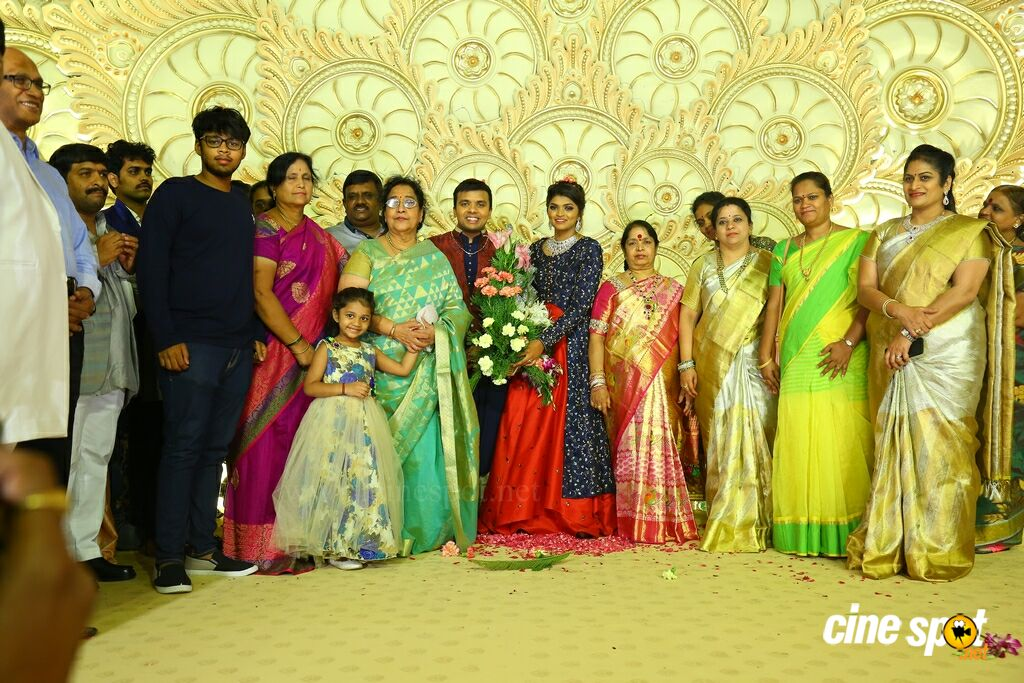 Ambica Krishna Grandson Wedding Reception (31)