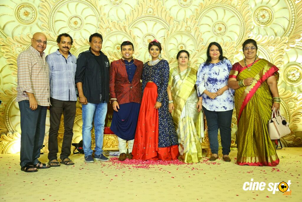 Ambica Krishna Grandson Wedding Reception (37)