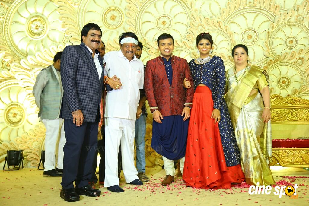 Ambica Krishna Grandson Wedding Reception (38)