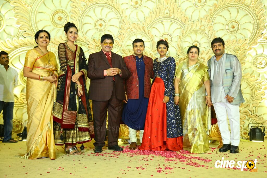 Ambica Krishna Grandson Wedding Reception (39)