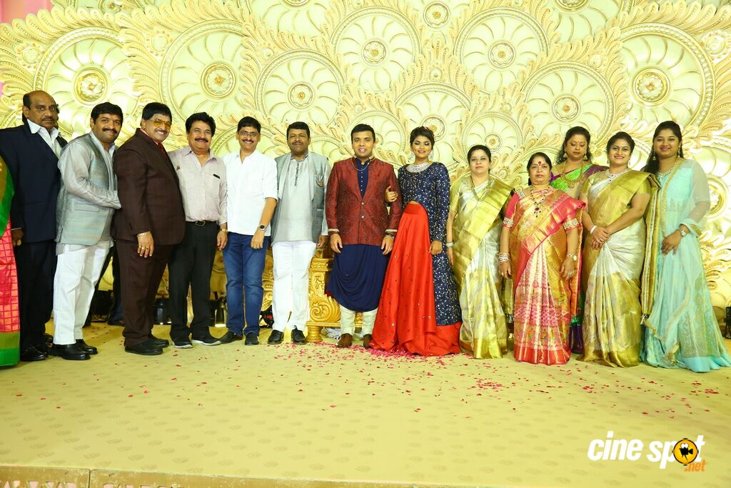 Ambica Krishna Grandson Wedding Reception (8)