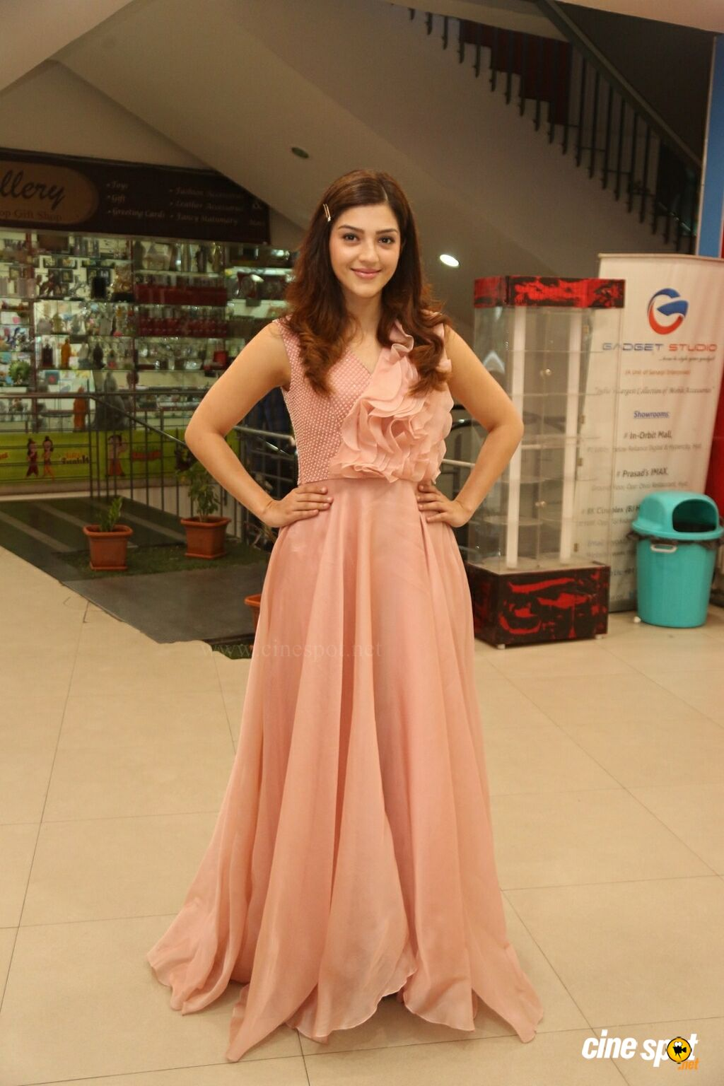 Mehreen Pirzada at Pantham Movie Success Meet (1)