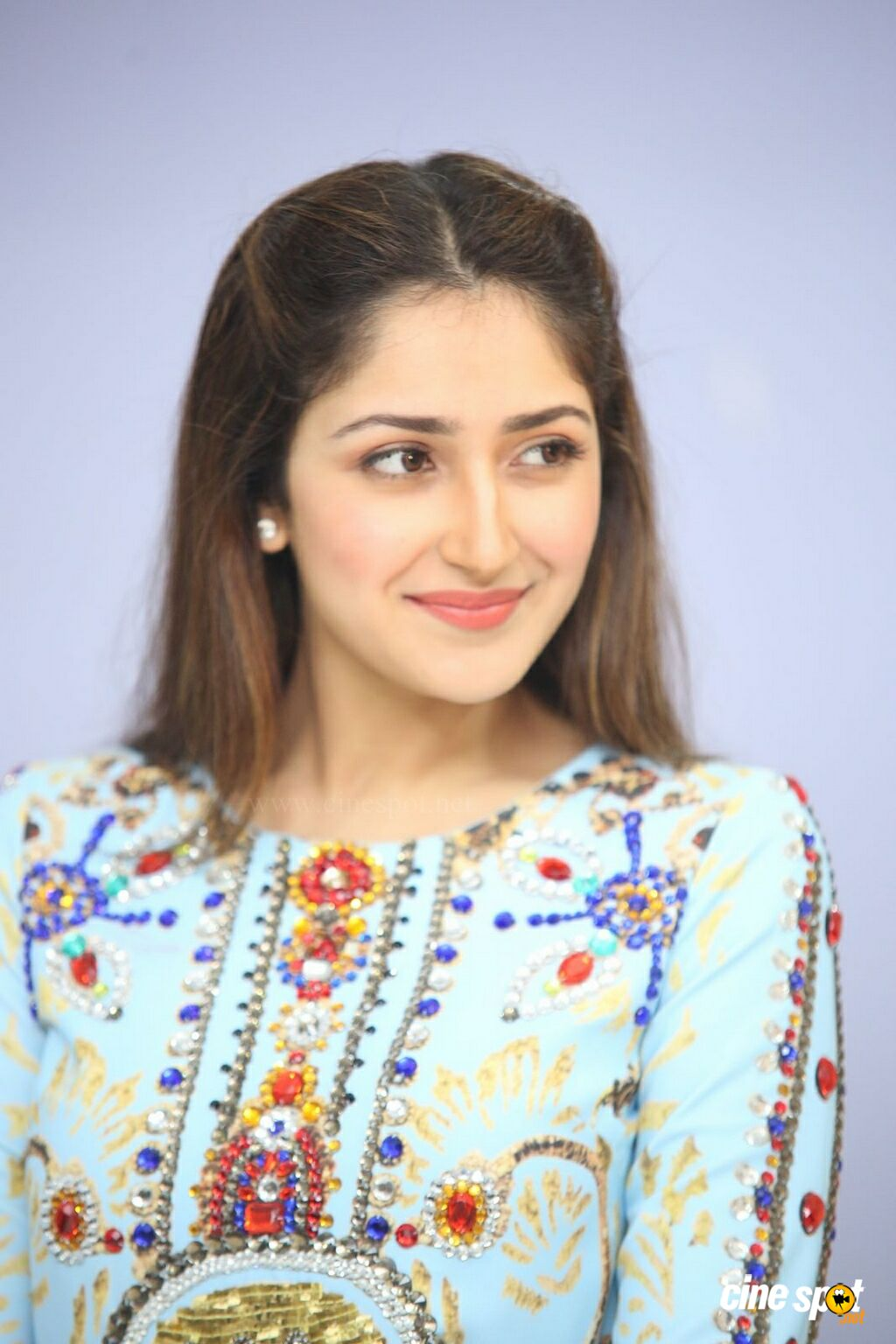 Sayesha Saigal at Chinna Babu Success Meet (34)