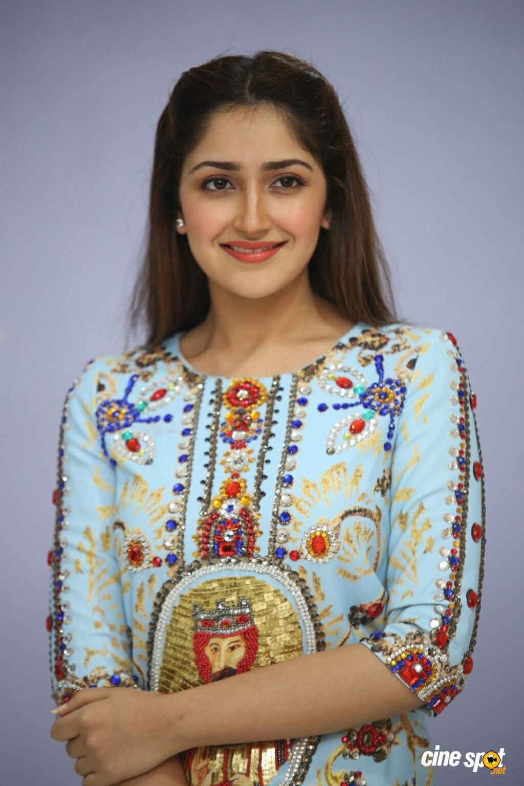 Sayesha Saigal at Chinna Babu Success Meet (7)