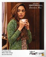 Sobhita Dhulipala as Sameera Rao in Goodachari Poster
