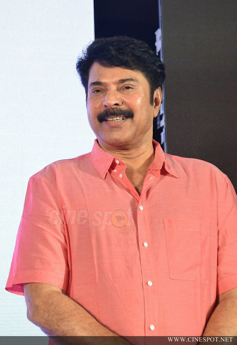 Mammootty at Iblis Movie Audio Launch (2)