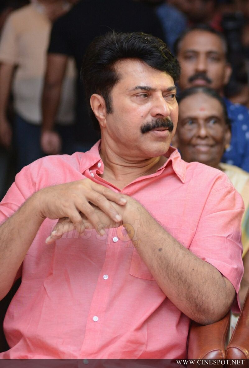 Mammootty at Iblis Movie Audio Launch (5)