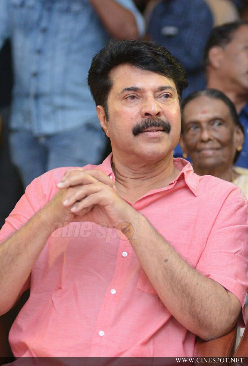 Mammootty at Iblis Movie Audio Launch (7)