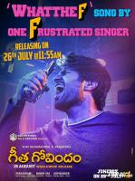 Geetha Govindam WhatTheF Song Release Poster