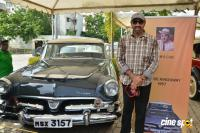Sathyaraj Inaugurates Vintage & Classic Cars Rally (30)