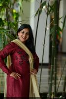 Anna Reshma Rajan at Vishwaroopam 2 Press Meet (1)