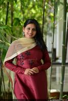 Anna Reshma Rajan at Vishwaroopam 2 Press Meet (12)